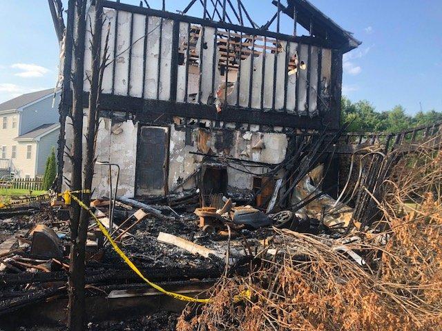 Burn Home Demolition